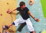 Pierre On Video: Rock Climbing